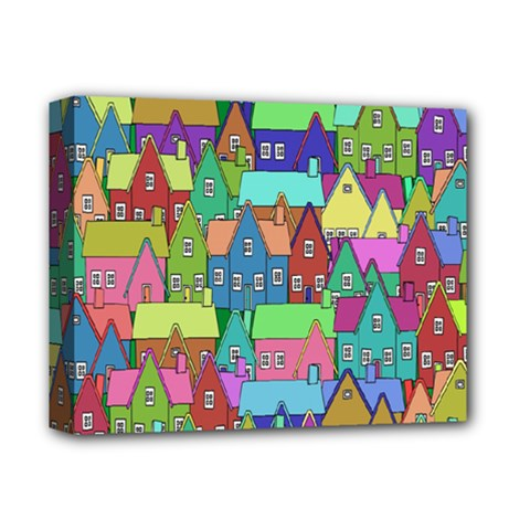 Neighborhood In Color Deluxe Canvas 14  x 11