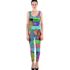 Neighborhood In Color OnePiece Catsuit