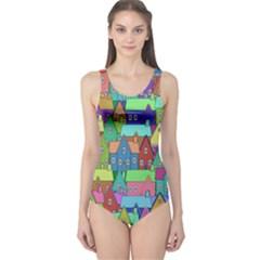 Neighborhood In Color One Piece Swimsuit