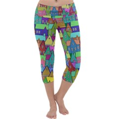 Neighborhood In Color Capri Yoga Leggings