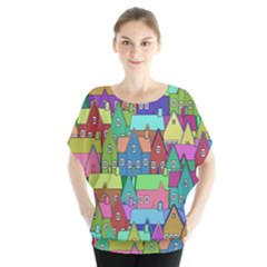 Neighborhood In Color Blouse