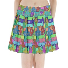 Neighborhood In Color Pleated Mini Skirt