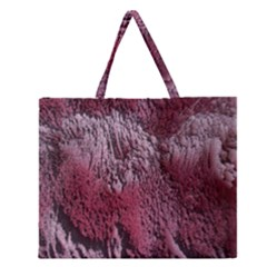 Texture Background Zipper Large Tote Bag
