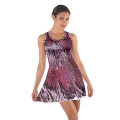 Texture Background Cotton Racerback Dress