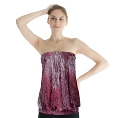 Texture Background Strapless Top