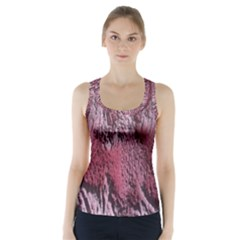 Texture Background Racer Back Sports Top