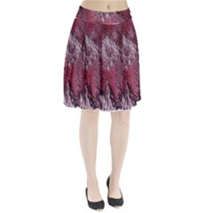 Texture Background Pleated Skirt