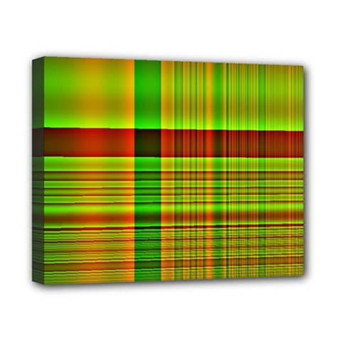 Multicoloured Background Pattern Canvas 10  x 8