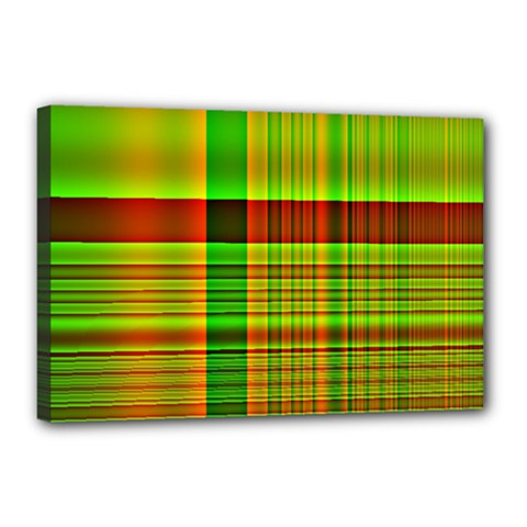 Multicoloured Background Pattern Canvas 18  X 12