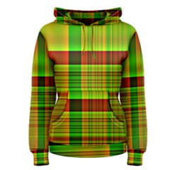 Multicoloured Background Pattern Women s Pullover Hoodie