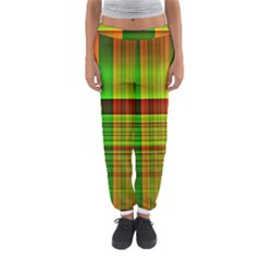 Multicoloured Background Pattern Women s Jogger Sweatpants