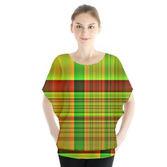 Multicoloured Background Pattern Blouse