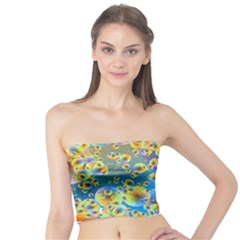 Color Particle Background Tube Top