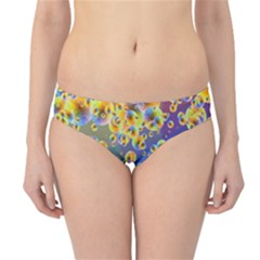 Color Particle Background Hipster Bikini Bottoms