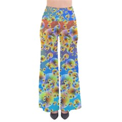 Color Particle Background Pants