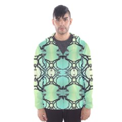 Branches With Diffuse Colour Background Hooded Wind Breaker (men)