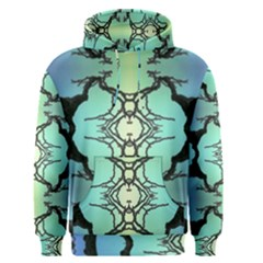 Branches With Diffuse Colour Background Men s Pullover Hoodie