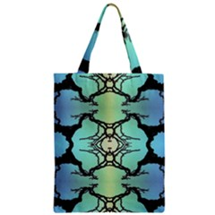 Branches With Diffuse Colour Background Zipper Classic Tote Bag