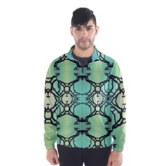 Branches With Diffuse Colour Background Wind Breaker (Men)