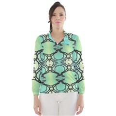 Branches With Diffuse Colour Background Wind Breaker (women)