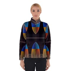 Black Cross With Color Map Fractal Image Of Black Cross With Color Map Winterwear