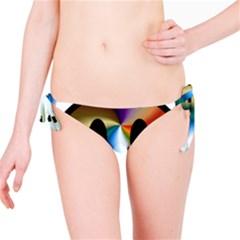 Simple Smiley In Color Bikini Bottom