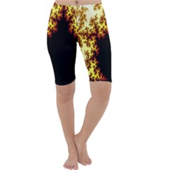 A Fractal Image Cropped Leggings