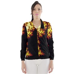A Fractal Image Wind Breaker (Women)