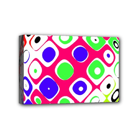 Color Ball Sphere With Color Dots Mini Canvas 6  x 4