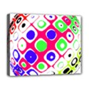 Color Ball Sphere With Color Dots Deluxe Canvas 20  x 16   View1