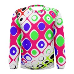 Color Ball Sphere With Color Dots Men s Long Sleeve Tee