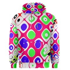 Color Ball Sphere With Color Dots Men s Pullover Hoodie