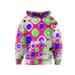 Color Ball Sphere With Color Dots Kids  Pullover Hoodie