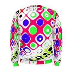 Color Ball Sphere With Color Dots Men s Sweatshirt