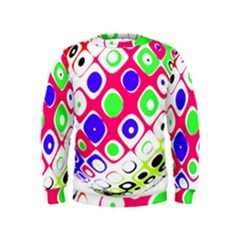 Color Ball Sphere With Color Dots Kids  Sweatshirt