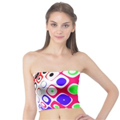 Color Ball Sphere With Color Dots Tube Top