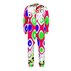 Color Ball Sphere With Color Dots OnePiece Jumpsuit (Kids)