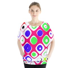 Color Ball Sphere With Color Dots Blouse