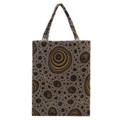 White Vintage Frame With Sepia Targets Classic Tote Bag