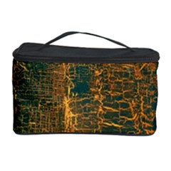 Black And Yellow Color Cosmetic Storage Case