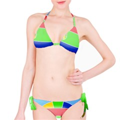 Balloon Volleyball Ball Sport Bikini Set