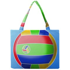 Balloon Volleyball Ball Sport Mini Tote Bag