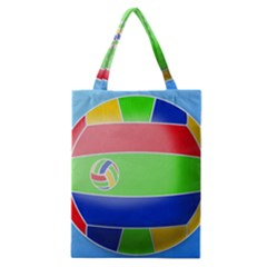 Balloon Volleyball Ball Sport Classic Tote Bag