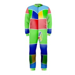 Balloon Volleyball Ball Sport OnePiece Jumpsuit (Kids)