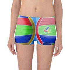 Balloon Volleyball Ball Sport Boyleg Bikini Bottoms