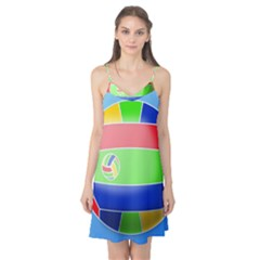Balloon Volleyball Ball Sport Camis Nightgown
