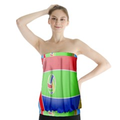 Balloon Volleyball Ball Sport Strapless Top