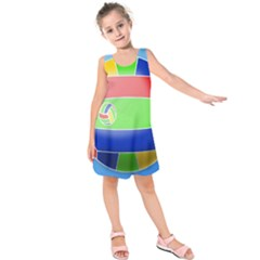 Balloon Volleyball Ball Sport Kids  Sleeveless Dress