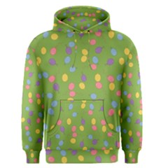 Balloon Grass Party Green Purple Men s Pullover Hoodie