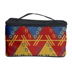 Aztec South American Pattern Zig Zag Cosmetic Storage Case